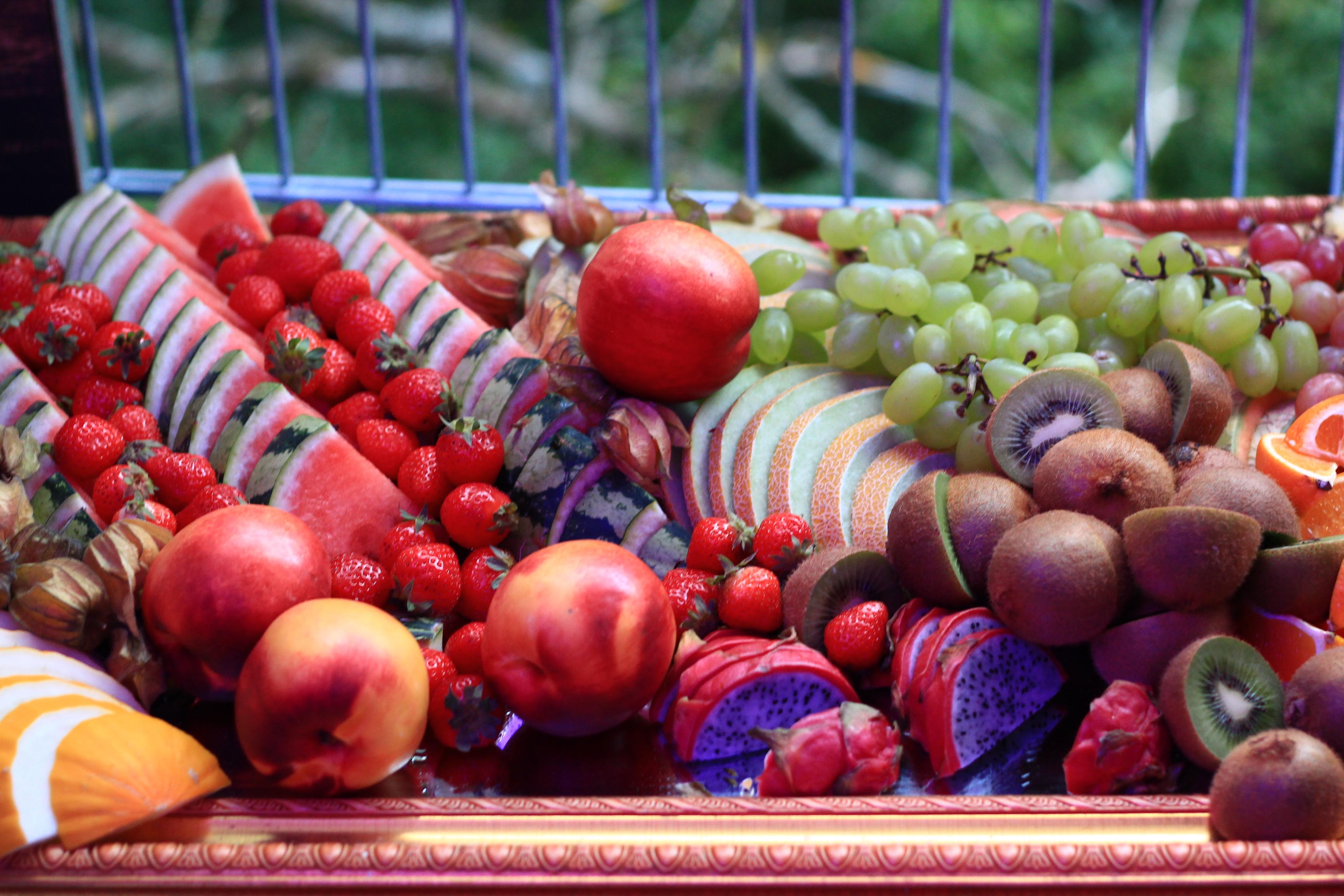 frisches Obst zum Höhengenuss auf dem Baumkronenpfad